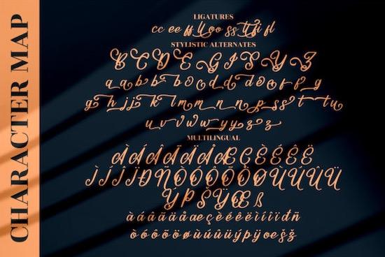 Mountain Brilliant font free