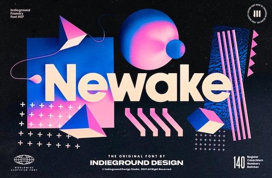 Newake font free download