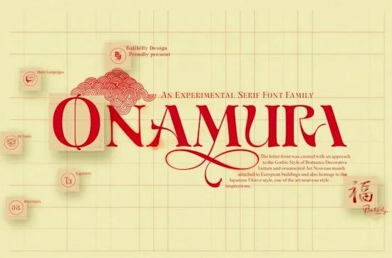 Onamura font free download