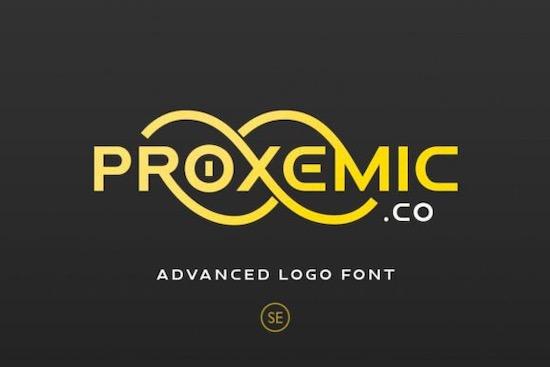Proxemic font free download
