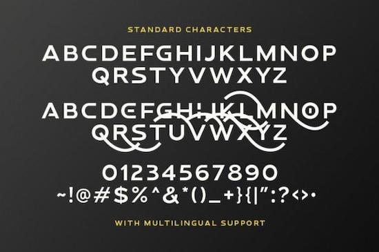 Proxemic font free