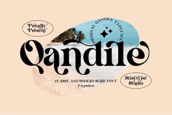 Qandile font free download