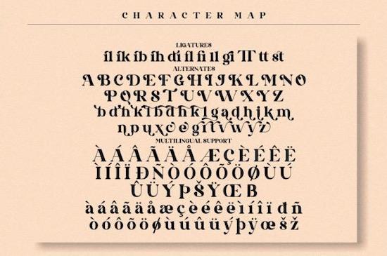 Qandile font free
