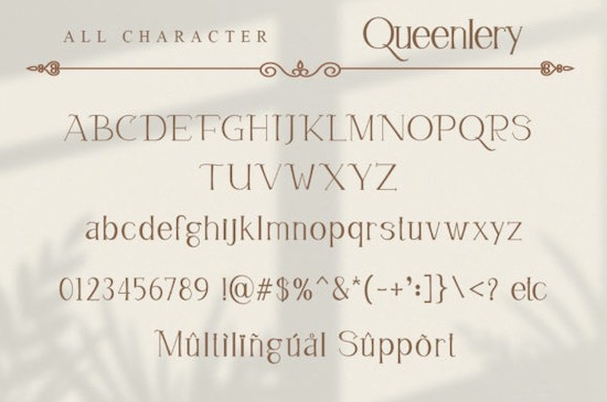Queenlery font download