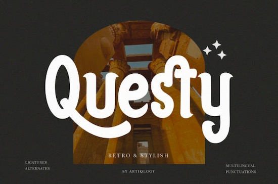 Questy font free download