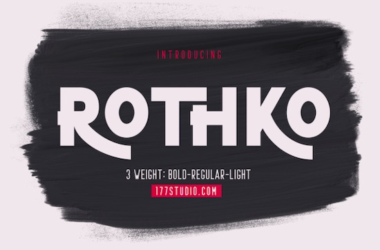 ROTHKO font free download