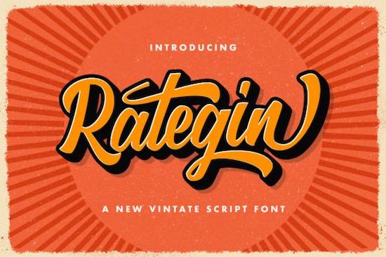 Rategin font free download
