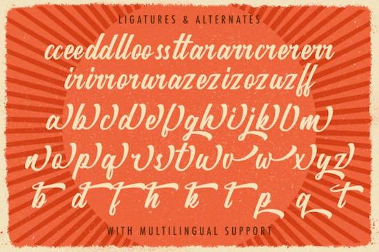 Rategin font free