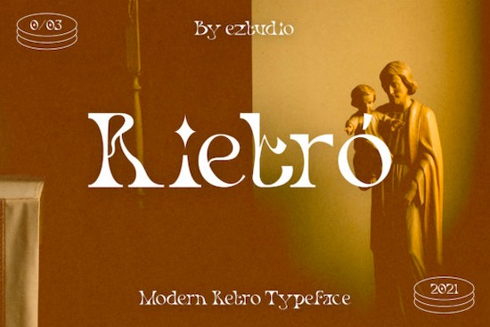 Rietro font free download