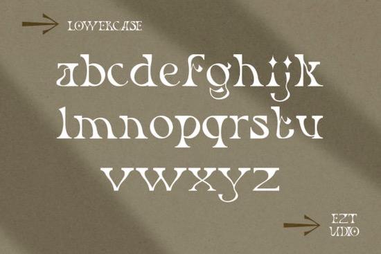 Rietro font free