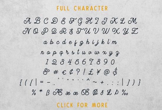 Routen Lightning Monoline font download