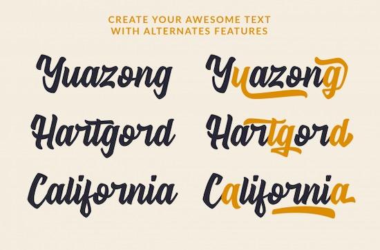 Signatype font free