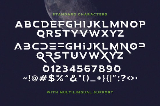 Space Boards font download