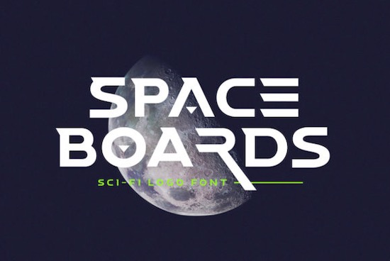 Space Boards font free download