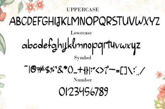 Summer Vintage font