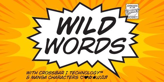 Wild Words font