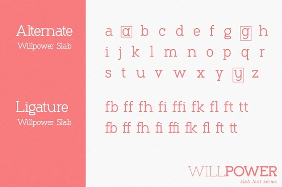 Willpower font download