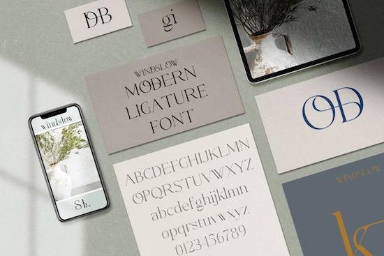 Windslow font download
