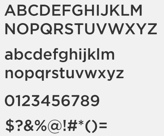 iCiel Medium font