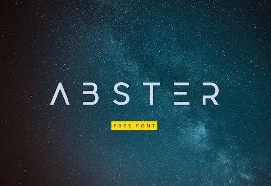 Abster font download