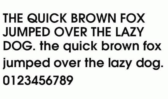 Adidas font download