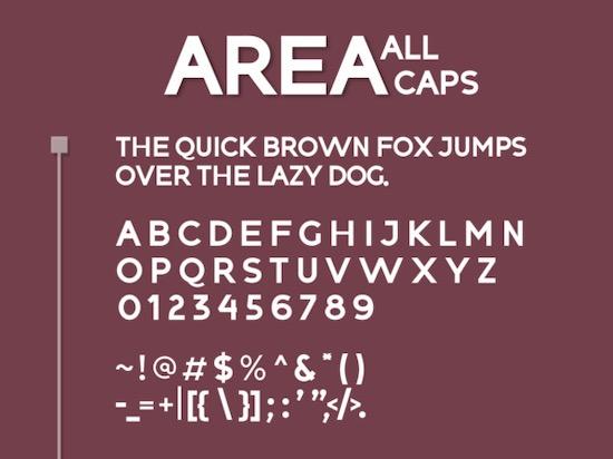 Affilliatte Area font download