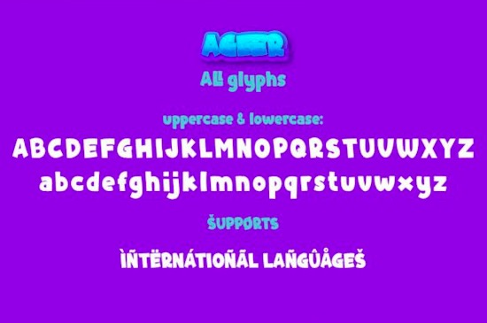 Ageer font download
