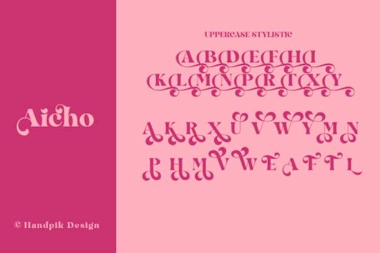 Aicho font download
