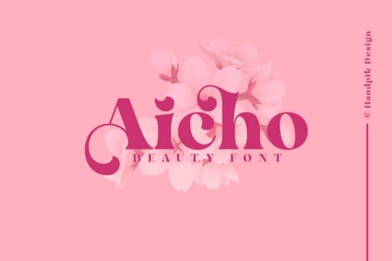 Aicho font free download