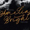 Amelia Bright Font free download