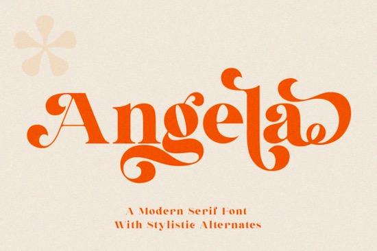 Angela font free download