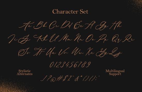 Ansylia font download
