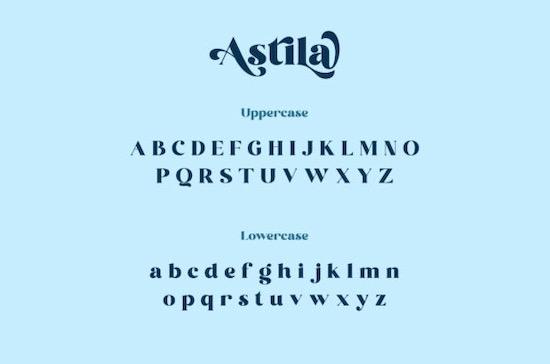 Astila font download
