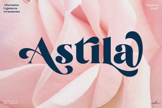 Astila font free download