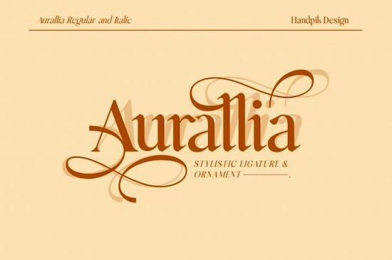 Aurallia font free download