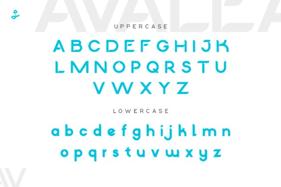 Avalea font download