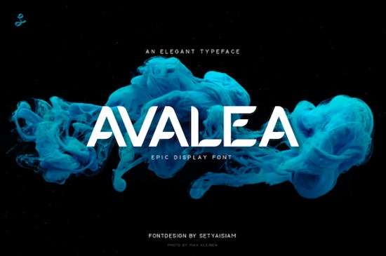 Avalea font free download