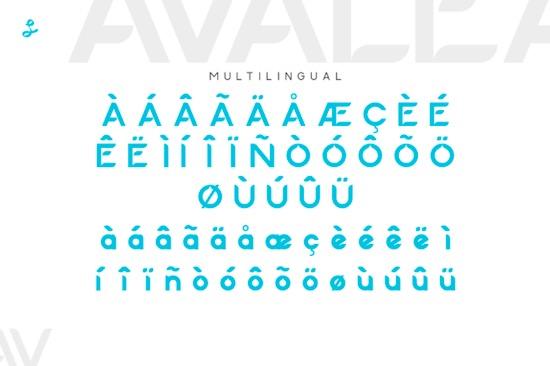 Avalea font free