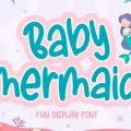 Baby Mermaid font