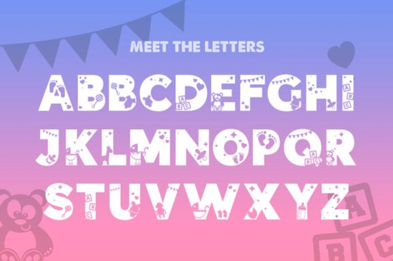Baby Silhouette font free