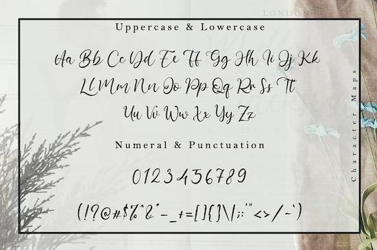 Barattiel font