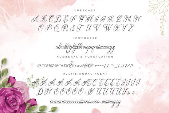 Beauty Lova font download