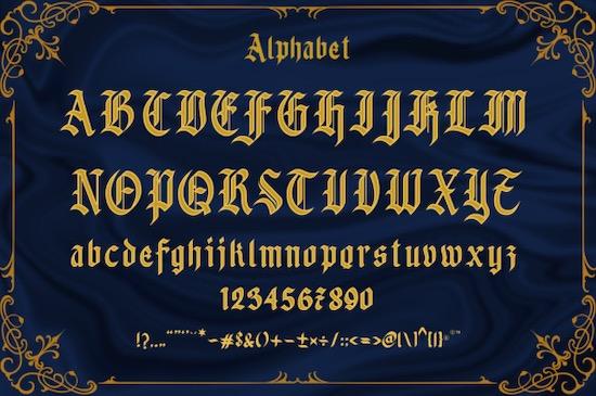Betchers Font download