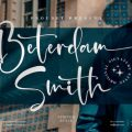 Beterdam Smith font free download