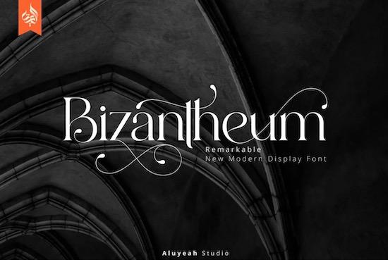 Bizantheum Font free download