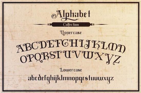 Black Mild font download
