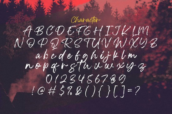 Blackwell font download
