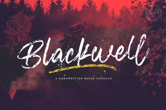 Blackwell font free download