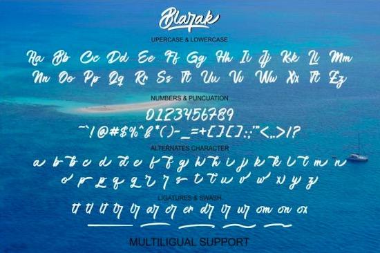 Blarak font download