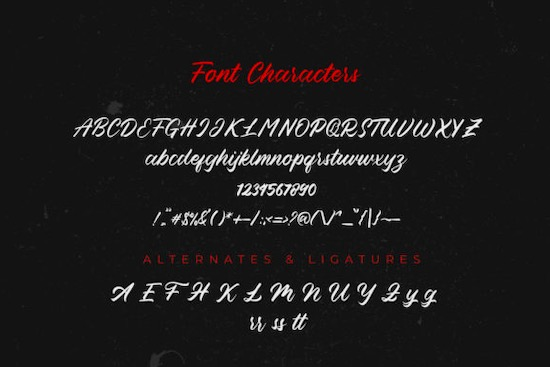 Blessed Friday Font download